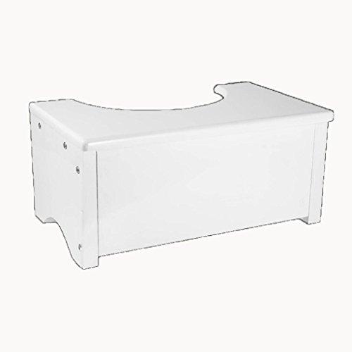 MNII Kreativ Toilette Tritthocker Pedalhocker Holz Kleine Bank Wechselnde Schuhe Hocker Bad 45 * 27 * 21cm , white- Schöne Möbel (Schuhe Reinigen Hanf)