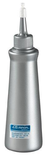 Comair Haarschneidemaschinenöl für Haarschneidemaschinen, Scheren, Schermaschinen etc. 120ml, schützt und pflegt!
