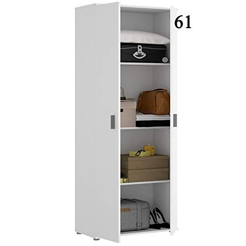 HABITMOBEL Armario Oficina Blanco Multiusos 2 Puertas