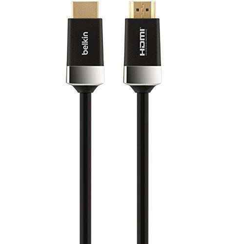 Belkin High Speed HDMI Kabel mit Ethernet für Blu-Ray (3m) gold - Belkins Hdmi-kabel