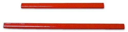 P & B Di Palumbo Carmine - Crayon rouge pour les charpentiers et les maçons 180 mm 10 pièces Maurer