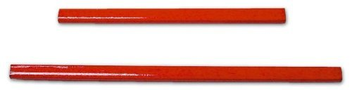 Lápiz Rojo carpinteros y albañiles 180 mm Maurer 10 piezas