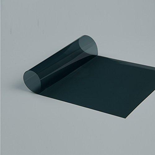 35 Schatten Fenster (HOHO 35% Schatten Farbe Grün Auto Seite hinten Fenster Solar Tint Natürliche Farbe Sichtschutzfolie 152,4cm x98ft Rolle)