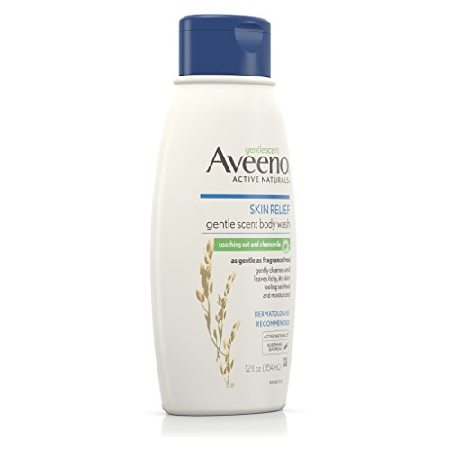 Aveeno Skin Relief Nourishing Body Wash, Oat/Chamomile, 12 Fluid Ounce by Aveeno