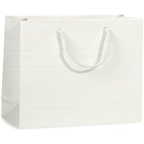 WHITE MATTE Gift Bags MEDIUMMINI-PK 13x5x10 3