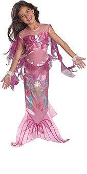 Rosa Mermaid - Childrens Costume - Todder - 94 centimetri