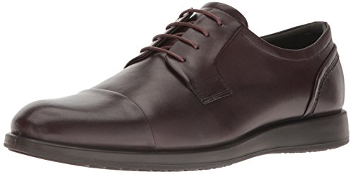 Schuhe Fudge (ECCO Men's Jared Cap Toe Tie Oxford, Fudge, 47 EU/13-13.5 M US)