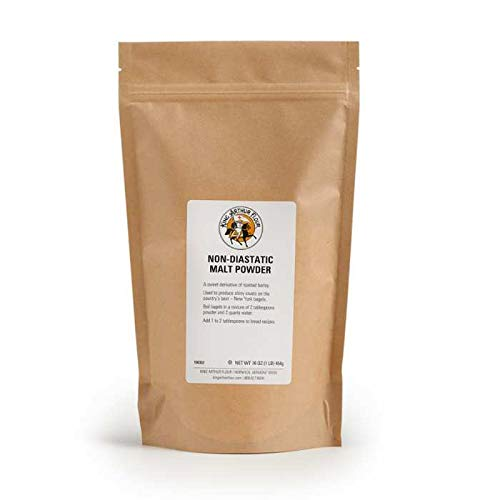 King Arthur Flour Non-Diastatic Malt Powder, 454g, 16 OZ. Bag