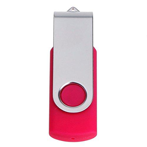 VJGOAL Usb 2.0 1GB 2GB 4GB 8GB 16GB 32GB 64GB 128GB Flash Drive Stick Pen Disk Digitale E Disk (1GB, Rose rot)