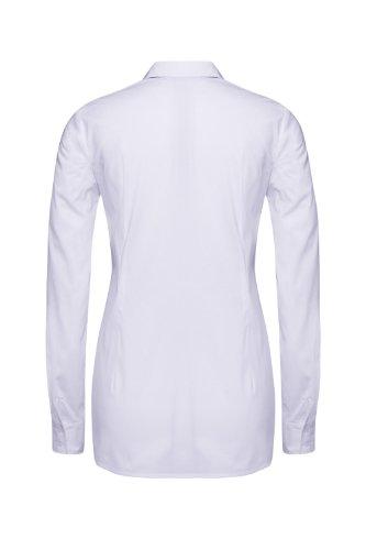 Bellybutton Damen Regular Fit Umstands Bluse VIOLA 1/1 Arm Weiß (white 90501)