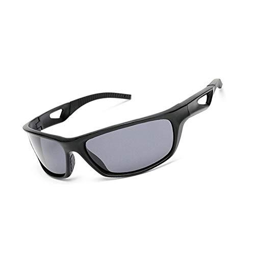 Aeici Sportbrille PC Sportbrille Damen Joggen Schutzbrille Sonnenbrille Schwarz