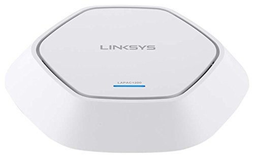 Linksys LAPAC-1200-EU AC1200 Access Point (1200 Mbit/s, PoE+, MIMO 2x2, Dual Band, Clustering) weiss