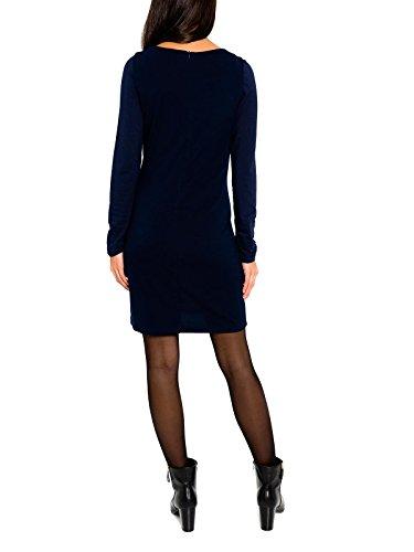 SMASH Canigo Vestido Pichi Estampado-A1661329, Robe Femme Bleu Marine