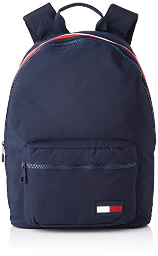 Tommy Hilfiger Herren Sport Mix Backpack Rucksack, Blau (Tommy Navy) 15x43x31 cm