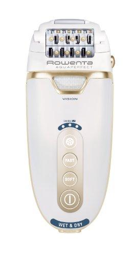 Rowenta Aquaperfect Spa - Depiladora sumergible sin cable, 2 velocidades, autonomía de hasta 40 minutos, accesorios zonas sensibles, cabezal masaje
