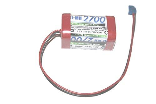 Sanyo Akku Pack 4,8V 2700mAh NI-MH F2x2 passend für Futaba