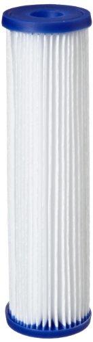 Pleated Filter Media (Pentek R50 Pleated Polyester Filter Cartridge, 9-3/4