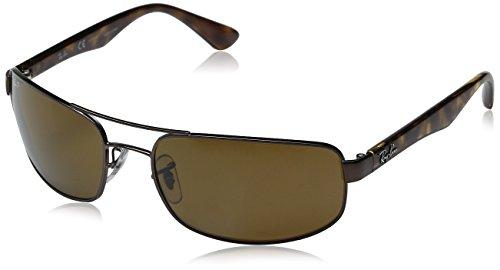 Ray-Ban Herren RB3445 Sonnenbrille, braun, one size