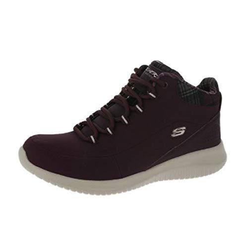 Skechers Damen Stiefeletten Ultra Flex JUST CHILL Bordeaux, Schuhgröße:EUR 36 - Textured Foam