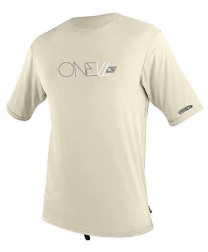 O 'Neill Neoprenanzug UV Sun Protection Herren Skins Short Sleeve Tee Rashguard, Herren, Shell (Short Tee Surf Sleeve)