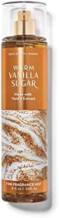 Bath & Body Works Warm Vanilla Sugar Fine Fragrance Mist for Women,