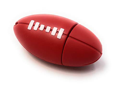Onlineworld2013 Football Ball Rund Sport Rugby Funny USB Stick 16 GB USB 3.0 (Sport Rugby)