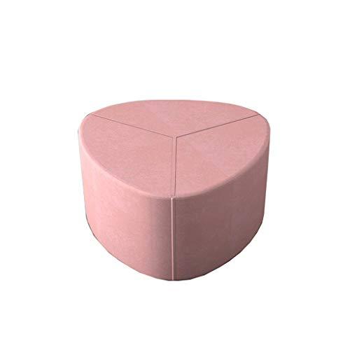 XLEVE Sofa Hocker, Hauptwohnzimmer Stoff Hocker sitzen Fauler Couch Pier Mini Couchtisch Hocker (Color : A)