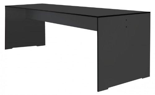 Conmoto Riva - Tisch L / 220 anthrazit - wetterfest aus HPL - Outdoortisch - Terrassentisch