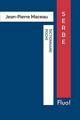 Dictionnaire Poche Serbe