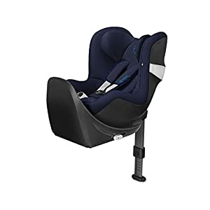 CYBEX Gold Sirona M2 i-Size Car Seat, Incl. Base M, From Birth to approx. 4 years, Up to Max. 105 cm Height, Indigo Blue   7