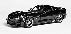 Maisto Dodge Viper 2013 Negro 31128Bk, Color
