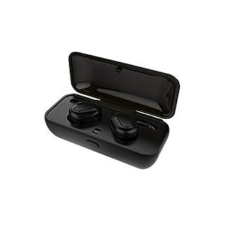 iHome Wireless Sport Bluetooth Kopfhörer 4.2 mit magnetischer Ladebox Touch Control True Bluetooth Kopfhörer Noise Cancelling Mini Headset mit Integriertem Mikrofon für iPhone Smartphones