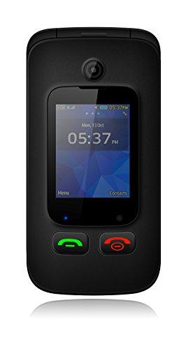"""YINGTAI T22 3G Conchiglia Telefono Cellulare, 2.4 """" Schermo Principale & 1.77"""" Sub Schermo- Cellule di Scorrimento per Anziani - Bluetooth, Torcia, Fotografica e Pulsanti per Emergenze"""