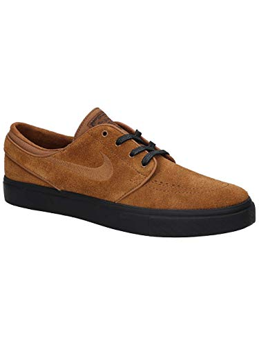 info for f646e eb257 Nike Herren Zoom Stefan Janoski Sneakers, Mehrfarbig Lt British Tan Black  001, 41