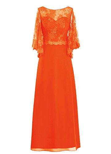 Dresstells, robe de cérémonie, robe de mère de mariée, robe pour les mères Orange