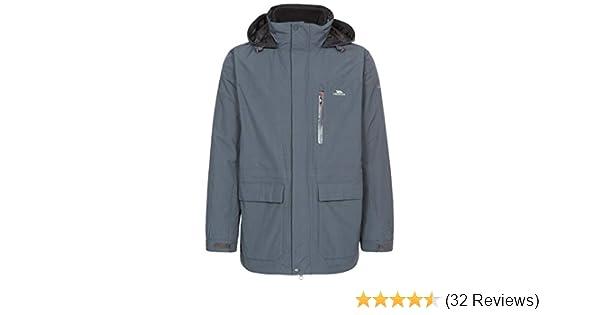 Trespass Edgewater II Waterproof 3 in 1 Jacket with Removable Inner Fleece