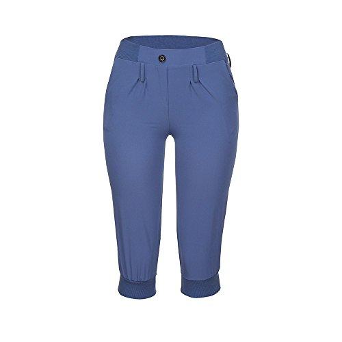 YWLINK Damen Kleidung,Frauen Mode Kurz Hose Capri Hosen LäSsig Chino Einfarbig Hosen