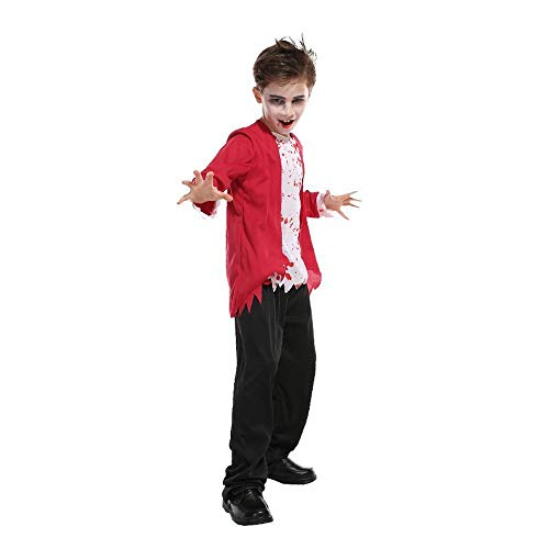 Little Halloween Boy Kostüm - Halloween Maskerade Kinder Bloody Little Boy Zombie Junge Vampir Kostüm COS Show