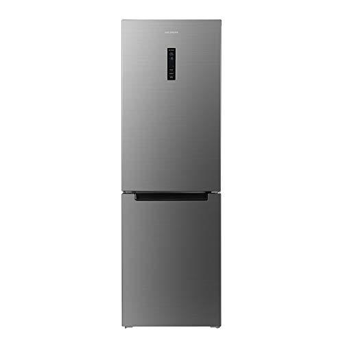 MEDION MD 37290 Kühl-Gefrierkombination (317L Nutzinhalt, 222L Kühlfach, 95L Gefrierfach, No-Frost-Funktion) silber -