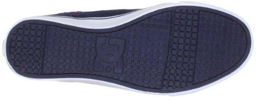 DC Shoes D0303214, Damen Sneaker Blau (Navy/Red)