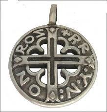 Pendentif viking celte Bouclier viking runique blason croix Viking celtique
