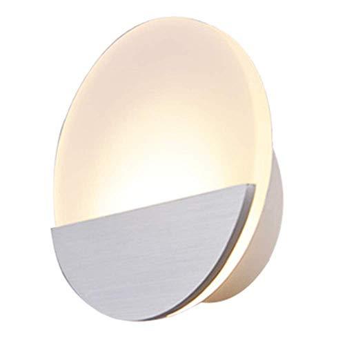 Ultra-moderne-couchtische (Kreative Energiesparende Runde Wall Lampe Moderne minimalistische Persönlichkeit Runde Ultra-Thin LED-Wohnzimmer Wohnzimmer-Dekorationslampe wird von Menschen liebevoll geliebt)