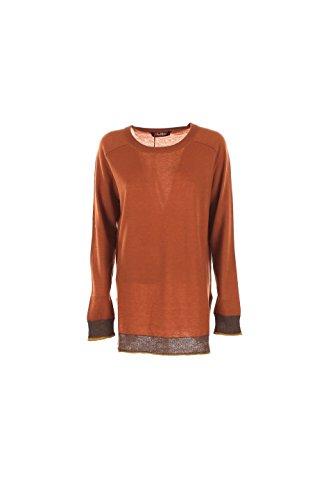 maglia-donna-maxmara-xl-arancione-foglia-girotta-autunno-inverno-2016-17