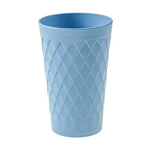 Haushalt Umweltfreundliche Einfache Kunststoff Couple Mundwasser Becher Spülen Wasser Teetasse Grün - Blau, free size