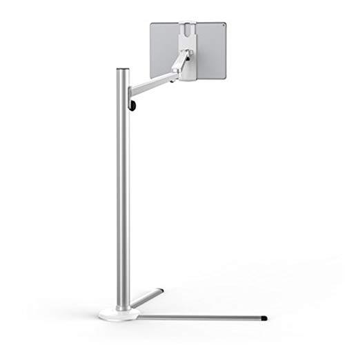 Höhe Einstellbar Tv-wagen (TLMYDD Flache Halterung 3-in-1-Computer-Standfuß für alle Laptop-Tablet-Smartphone in der Höhe einstellbar Fernsehtisch (Color : A))