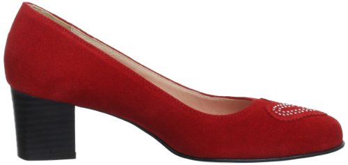 Diavolezza Lea Damen Pumps Rot (rosso)