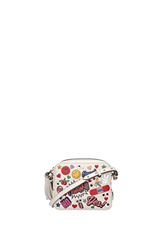 Umhängetaschen Anya Hindmarch all over wink Damen - Leder (CROSSBODYALLOVERWINKSTICKERSCIRCUSCHALK) (Hindmarch-leder Anya)