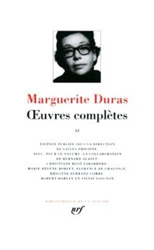 Œuvres complètes (Tome 2) par Marguerite Duras