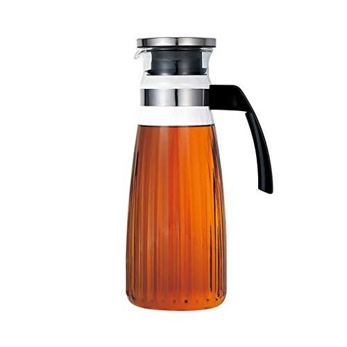 GPMSE Glas krug Deckel, Glas wasserflasche hitzebeständige Sicherheit ist sehr geeignet für EIS Tee Wein Kaffee Milch und saft Trinken Flaschen NA