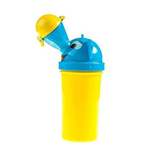 Newin étoile 1pièce garçons fantaisie Portable Pot Urinoir pour marche Camping Voyage (Jaune)